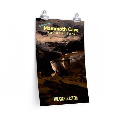 Mammoth Cave National Park Giants Coffin Kentucky Poster