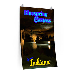 Bluespring Caverns Poster