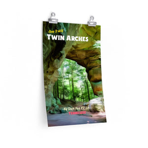 Big South Fork Twin Arches Poster