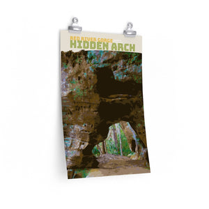 Red River Gorge Hidden Arch Kentucky Poster