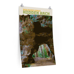 Red River Gorge Hidden Arch Poster