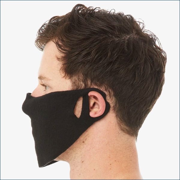 7.0 oz. Fleece Contoured Face Guard Masks - Pack of 4