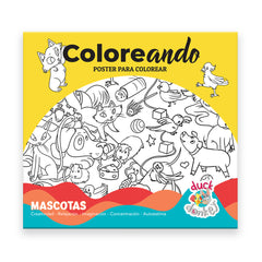 Coloreando, Set de Pósters para colorear