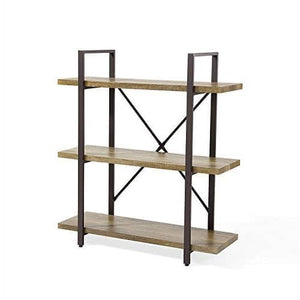 Wayatt 3 Level Shelving-Bookcase-OliveBranchHome