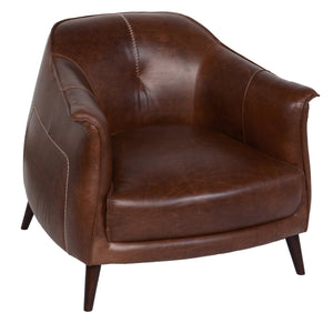 Martel Club Chair Tan - Olive Branch Home