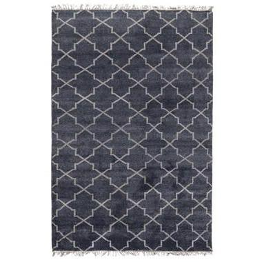 Hand Knotted Terrace Navy