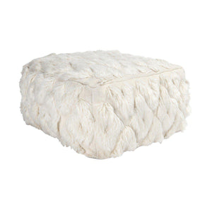 Lisbon Antique Ivory Pouf x12
