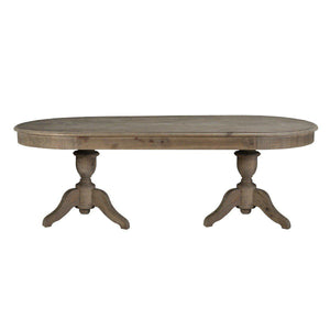 Hartland Oval Dining Table 88""
