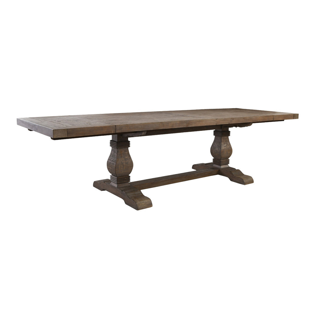 "Caleb 114"" Ext Dining Table Desert Gray"