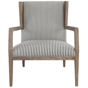 York Accent Chair Striped