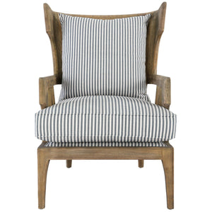 Lawrence Accent Chair Striped