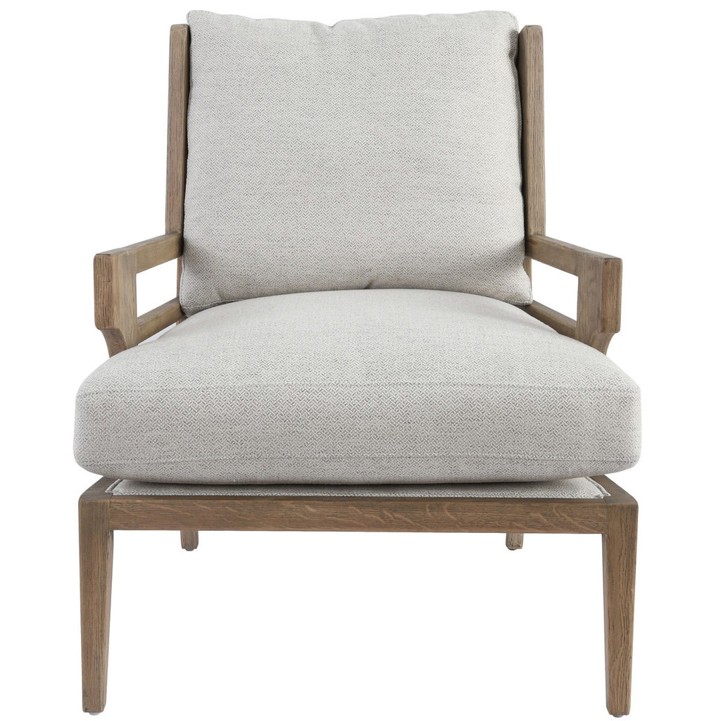 Rodger Accent Chair Pearl White