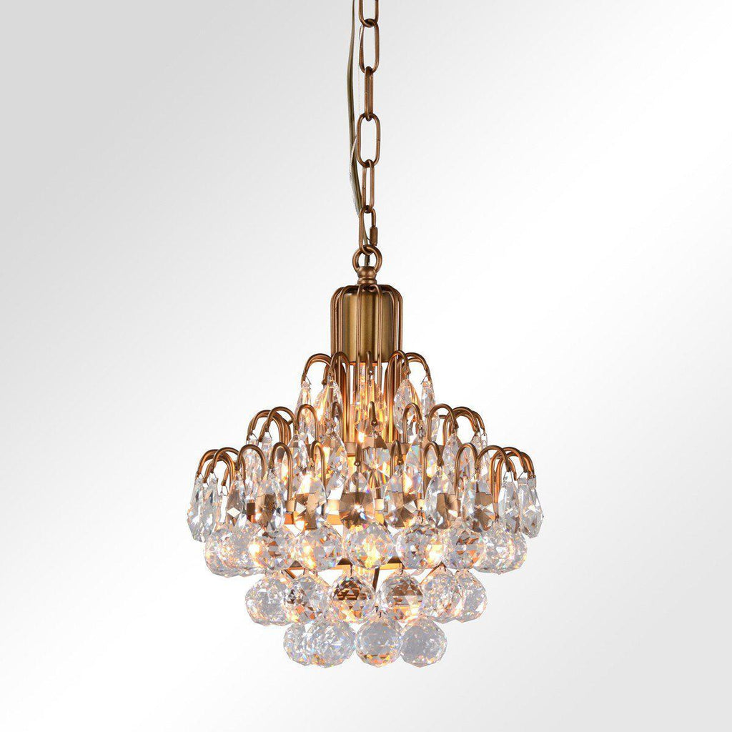 Grace Crystal Chandelier Small
