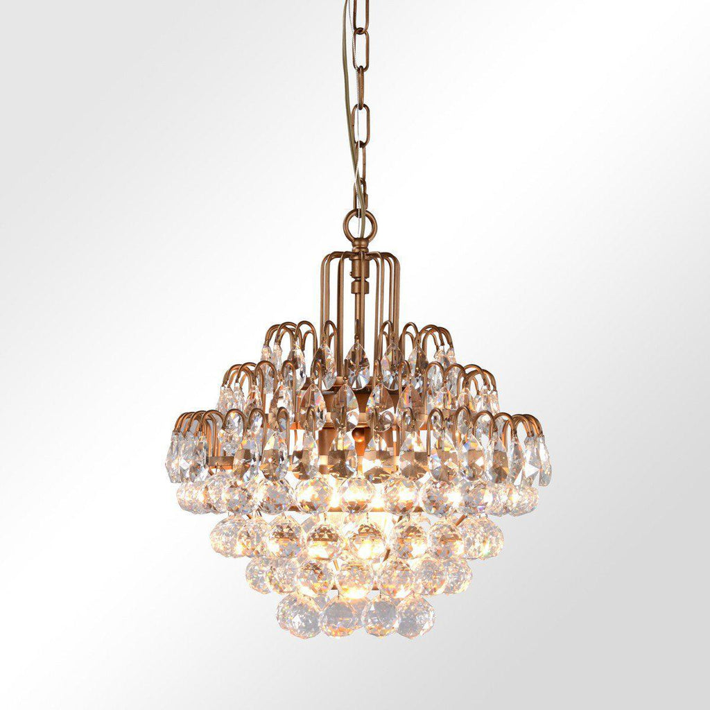 Grace Crystal Chandelier Medium