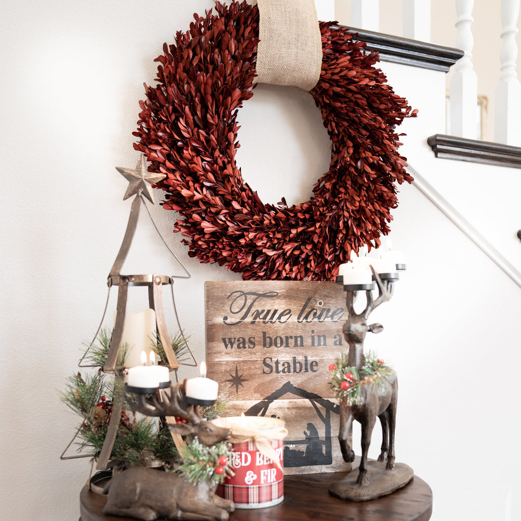 Holiday Farmhouse Wreath