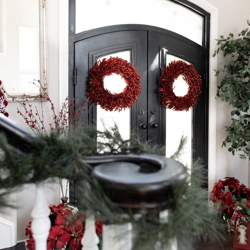 Farmhouse Christmas Wreath