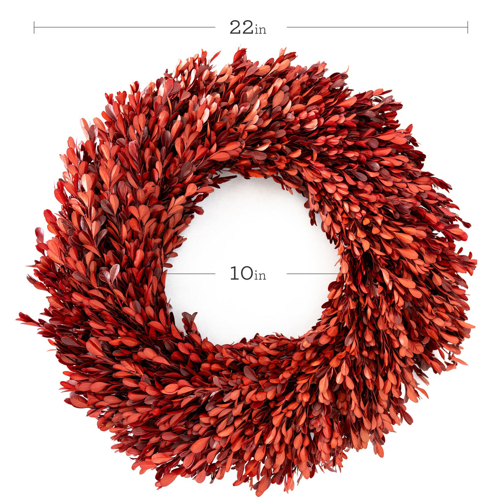 Large Red Wreath