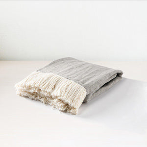 TC Joshua Dove Gray/Ivory Throw 50x70