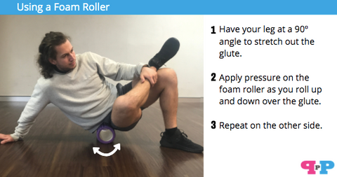 foam rolling tight muscle