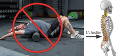 Foam Rolling the back lower back pain