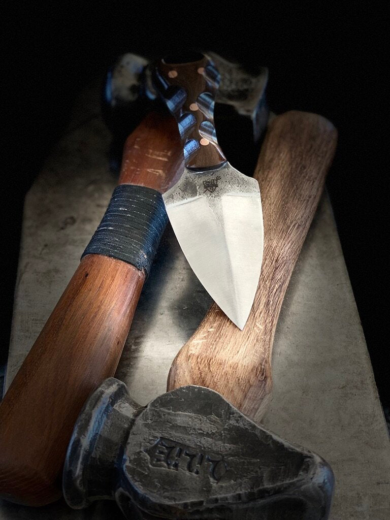 Forged Push Dagger