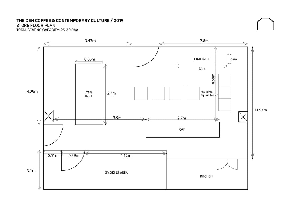 The Den Manila Floor Plan / Layout