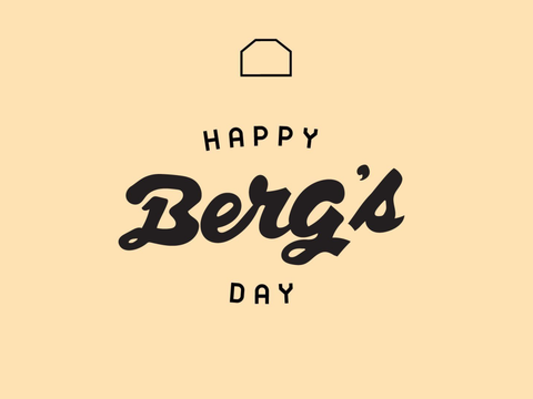 Happy Berg's Day