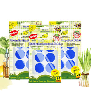 blue mosquito repellent patches