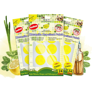 yellow mosquito repellent patches