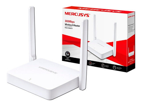 Router Mercusys MW301R 300Mbps 2 antenas
