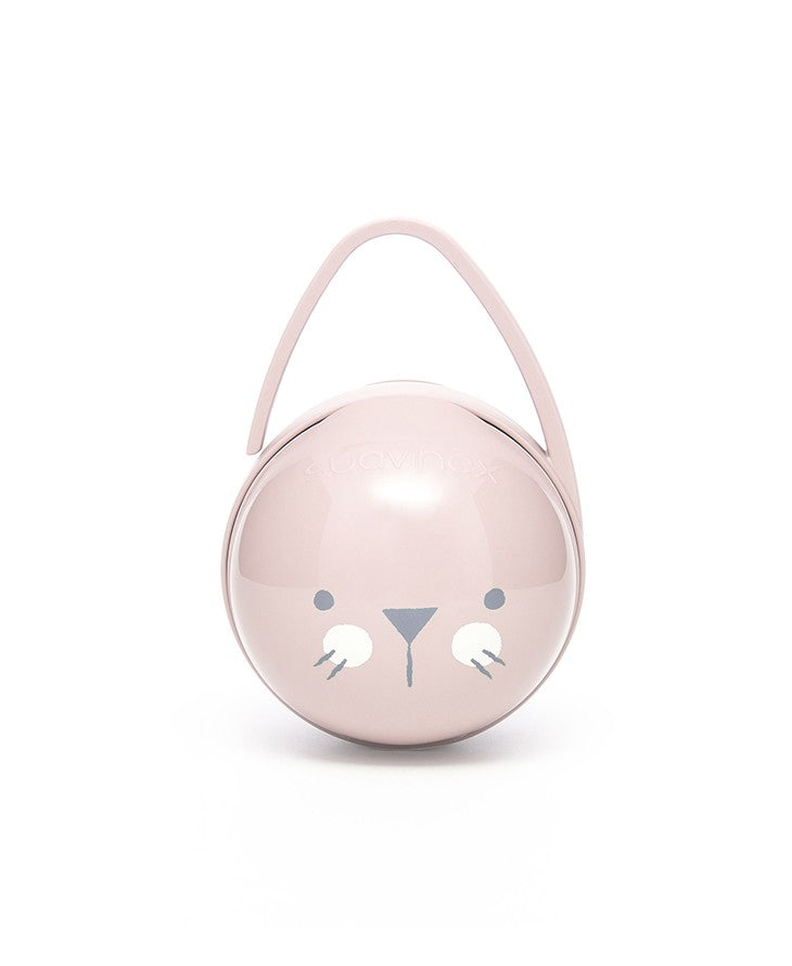 Hygge Premium Duo Soother Holder, Pink