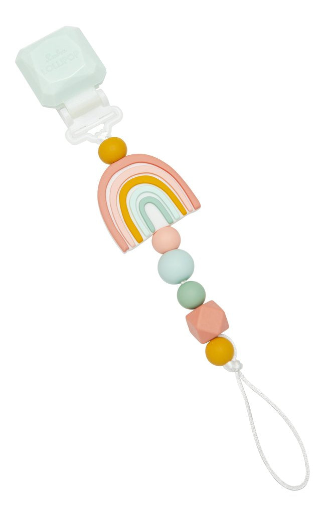 Pacifier Clip Darling - Rainbow