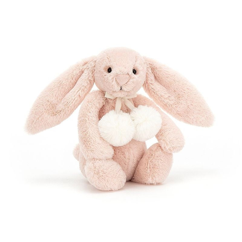 Bashful Snow Bunny Blush Small (Pompoms)