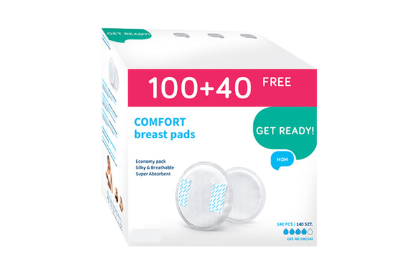 Comfort Nursing Breast Pads, 140 pcs.