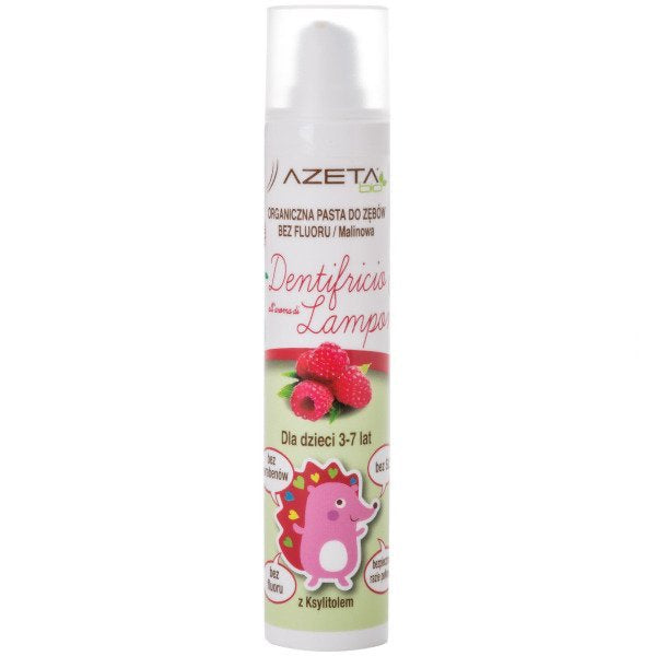 Organic Baby Toothpaste - Raspberry 3-7 Years