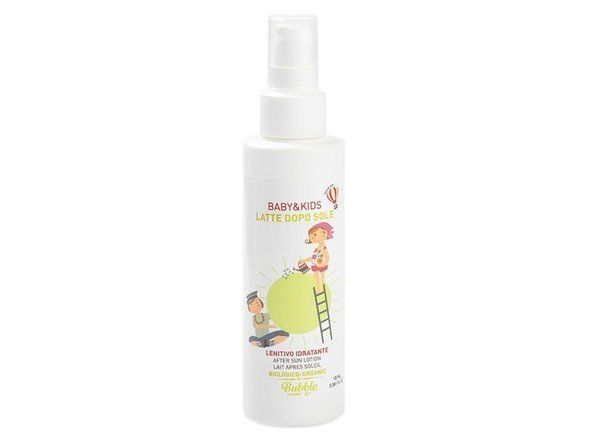 Organic Soothing After Sun Milk for Children and Babies,+0m