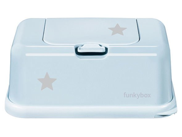 Baby Wipes/Tissue Dispenser, Blue Little Star