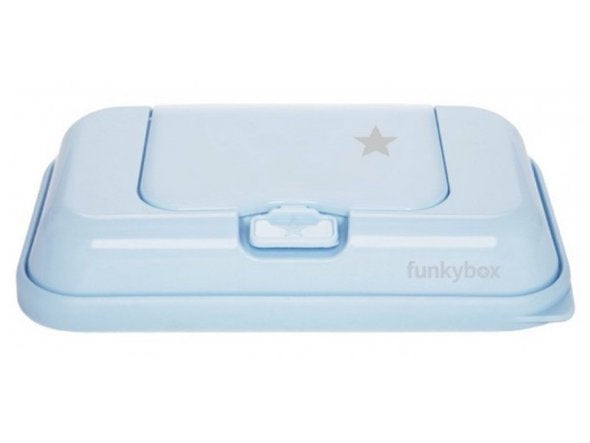 Baby Wipes/Tissue Dispenser To Go, Blue Little Star
