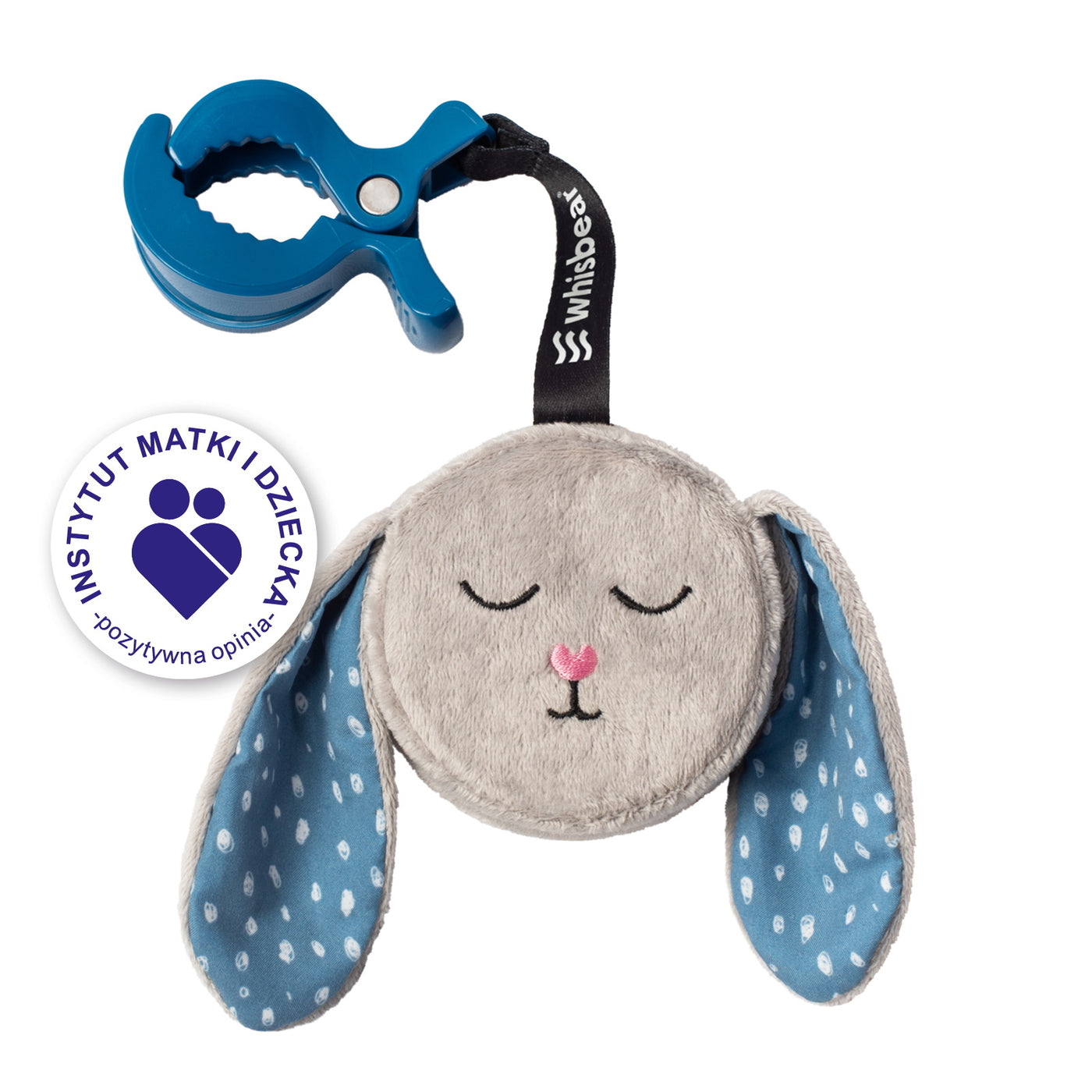 The Soothing Bunny On the Go, Grey