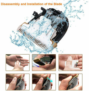 NOISE-FREE DESIGN PET HAIR CLIPPER REPLACEMENT BLADE
