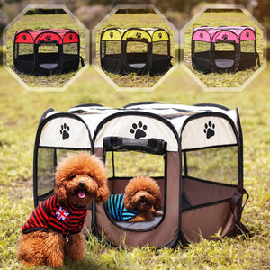Portable Pet Playpen Tent - Petacco