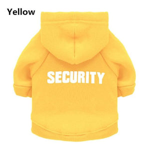 Security Cat/Dog Clothes - Petacco