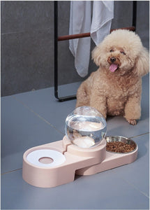 Smart Automatic Bubble Pet Food and Water Bowl - Petacco