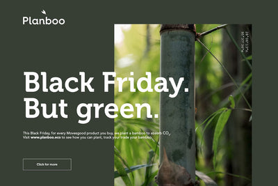 1 bamboo per order - Black Friday