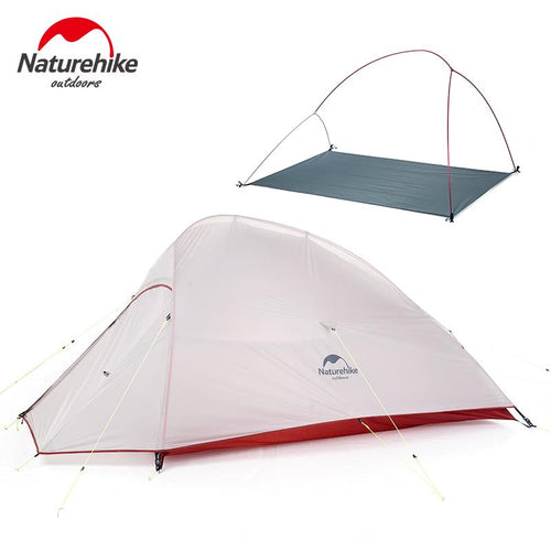High Quality Self-standing Camping Tent for 2 Persons - Ultralight, Waterproof, Silicon