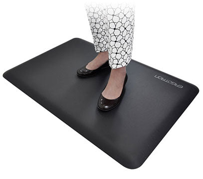 WorkFit Floor Mat (in use)