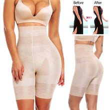 Load image into Gallery viewer, High waist shapewear thigh