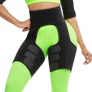 Thigh shaper wraps legs