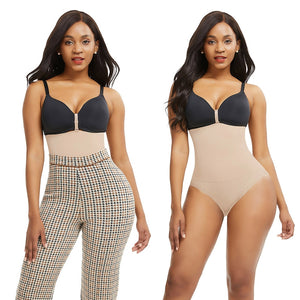 High waist seamless body shaper
