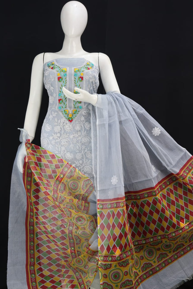 CHIKANGARI KOTA DORIA  EMBROIDERY WORK SUIT